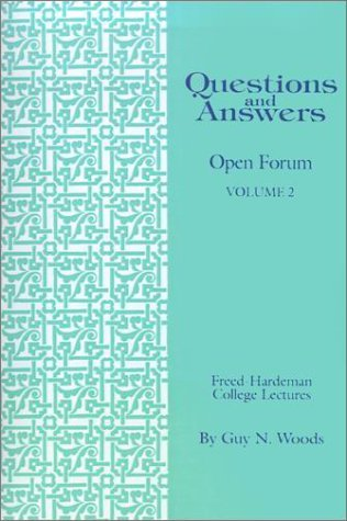 QUESTIONS AND ANSWERS, VOLUME 2 by Guy N. Woods