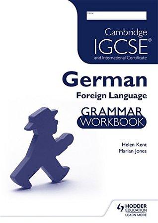 Cambridge Igcse and International Certificate German Foreign Lang