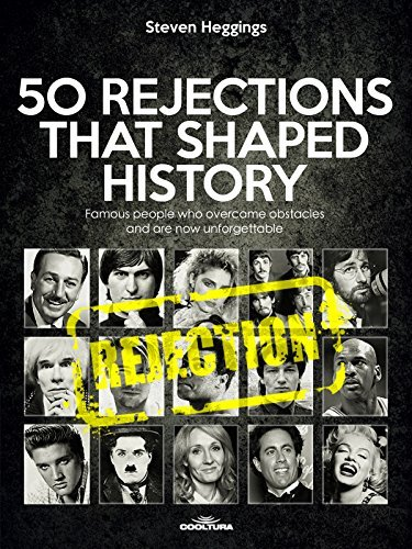 50 REJECTIONS THAT SHAPED HISTORY - Famous people who overcame obstacles and are now unforgettable
