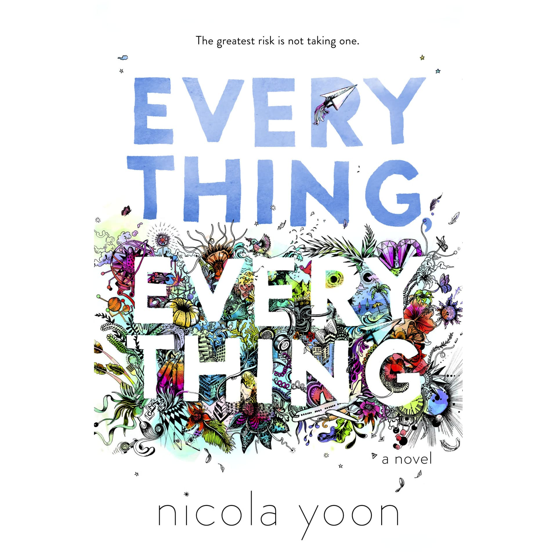 Slam Book Cover Page Quotes: Everything, Everything By Nicola Yoon