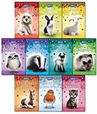 RSPCA Animal Rescue Pets 10 Children's Books Collection Set