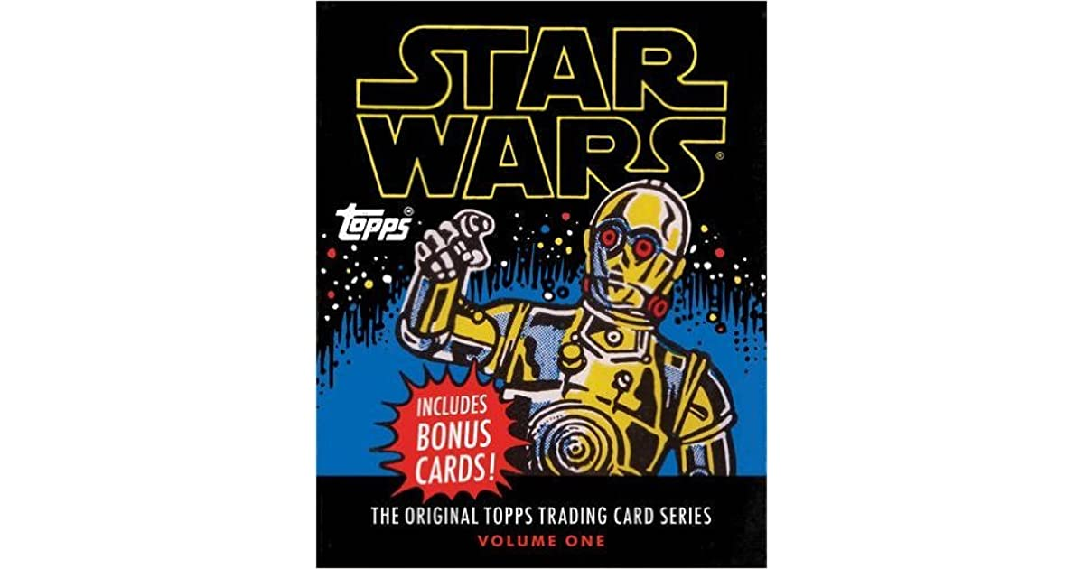 star wars the original topps trading card series volume one by the topps company