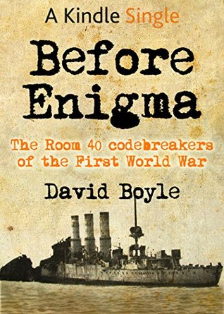 Before Enigma (A Kindle Single)