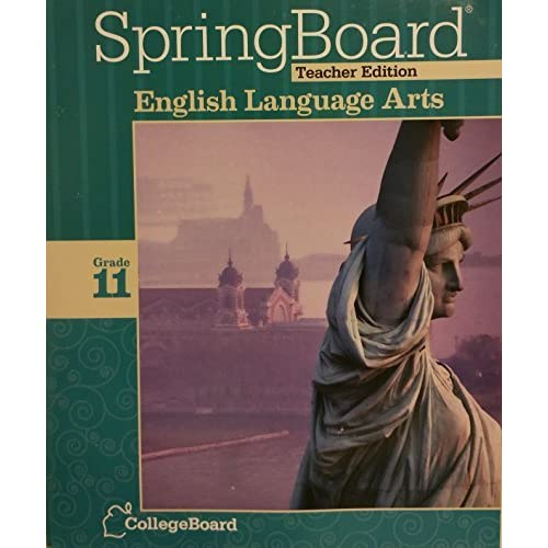 Springboard teachers edition te english language arts grade 11 springboard teachers edition te english language arts grade 11 collegeboard 2014 by english fandeluxe Choice Image