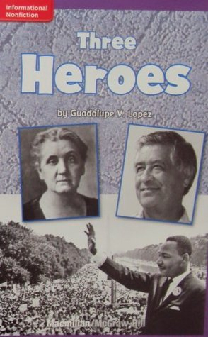 Non- Fiction for Kids: Three Heroes (ELL READING)