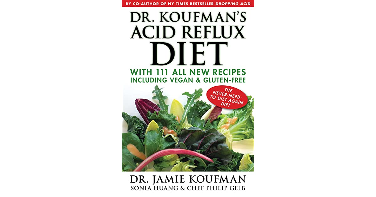 The diet cure & pdf acid cookbook reflux dropping