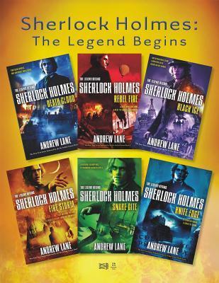 Sherlock Holmes: The Legend Begins: Death Cloud, Rebel Fire, Black Ice, Snake Bite, and Knife Edge