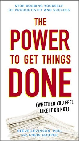 The Power to Get Things Done by Steve Levinson
