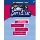 2007 Zaner Bloser 7th Grade Spelling Teacher Resource Book  by  Various