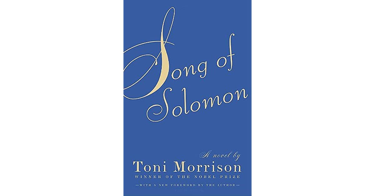 song of solomon character analysis
