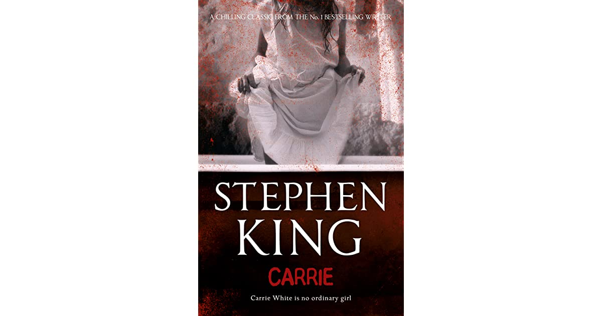 a book review on stephen kings carrie The paris review is a literary magazine featuring  stephen king began this interview in the  he sold his novel carrie, which quickly became a best.