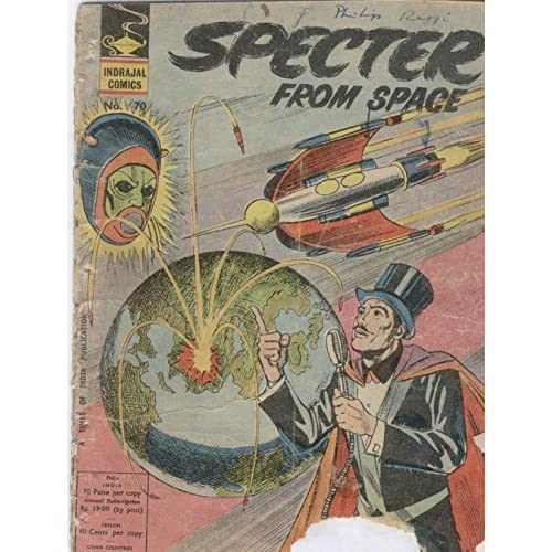 Indrajal Comics-70: Mandrake:Specter From Space by Lee Falk