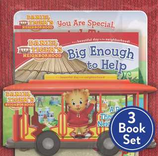 Daniel Tiger Shrink-Wrapped Pack #2: You Are Special, Daniel Tiger!; A Ride Through the Neighborhood; Big Enough to Help