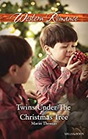 Twins Under The Christmas Tree