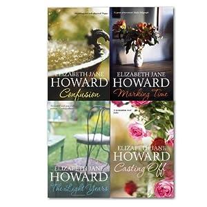 Elizabeth Jane Howard Cazalet Chronicle 4 Books Set,