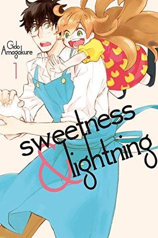 Book cover for manga series Sweetness & Lightning