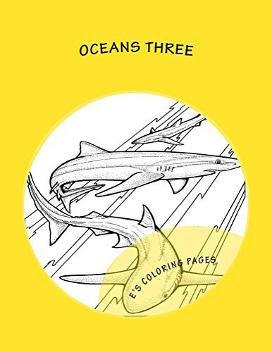 OCEANS three Es Coloring Pages