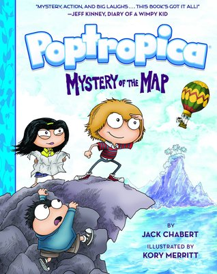 Mystery of the Map (Poptropica, #1) by Jack Chabert
