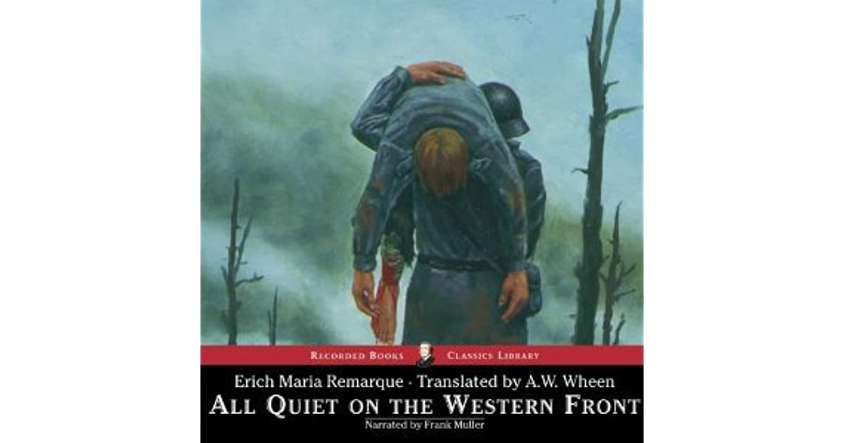the soldiers lost of innocence in the novel all quiet on the western front by erich maria remarque a All quiet on the western front major themes in all quiet on the western front, erich maria remarque i believe we are lost at home on leave among his books.
