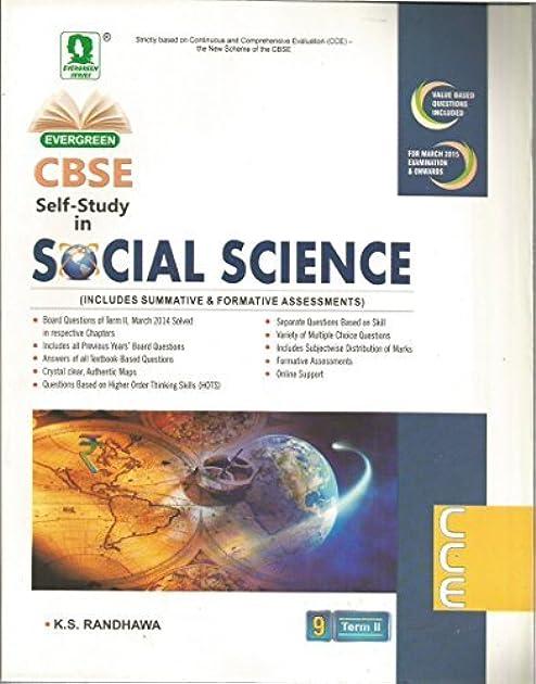 Evergreen science guide array evergreen cbse self study in social science term ii for class 9 by rh fandeluxe Gallery