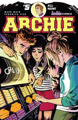 Archie (2015-) #5 by Mark Waid