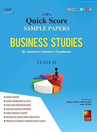 SAMPLE PAPERS BUSINESS STUDIES (CLASS 12)