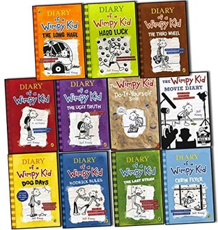 Diary Of A Wimpy Kid Collection 11 Books Set Pack By Jeff Kinney Rrp A 90 97 By Jeff Kinney