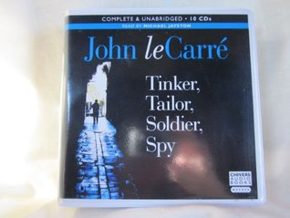 Tinker, Tailor, Soldier, Spy by John le Carre Unabridged CD Audiobook