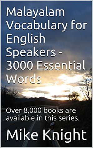 Malayalam Vocabulary for English Speakers - 3000 Essential