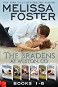 The Bradens at Weston, CO: Books 1-6 Boxed Set