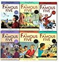 Enid Blyton Famous Five Series 6 Books Collection Set (16 To 21) Children Reading