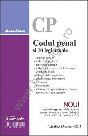 Codul Penal Si 10 Legi Uzuale