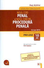 Noul cod penal si Noul cod de procedura penala