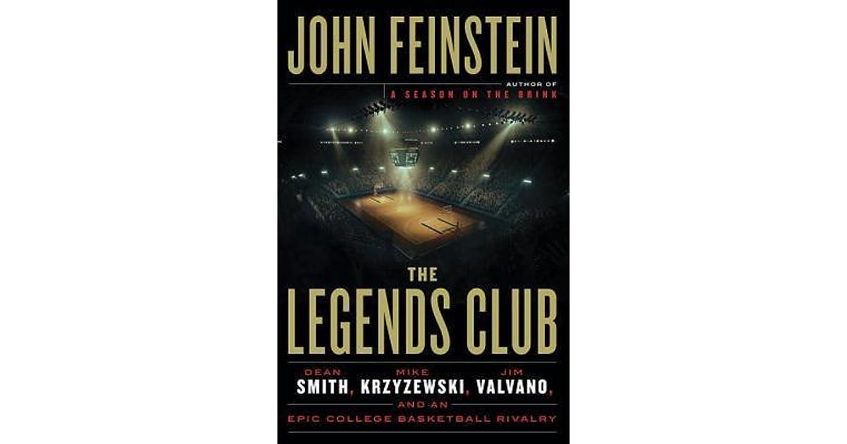 The rivalry by john feinstein summary