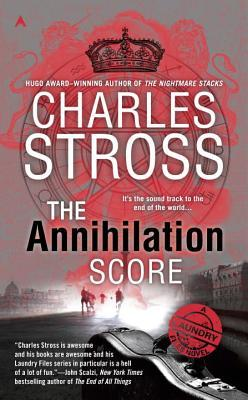 book cover for the Annihilation Score