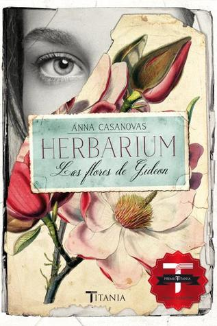 portada de la novela romántica contemporánea Herbarium, de Anna Casanovas