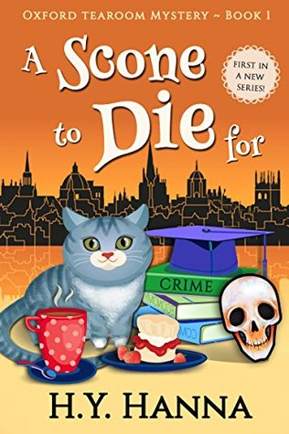 A Scone to Die For (Oxford Tearoom Mysteries #1)