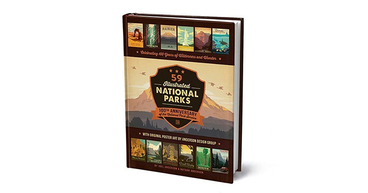 Mandy The United States S Review Of 59 Illustrated National Parks 100 Years Of Wilderness Wonder Coffee Table Book