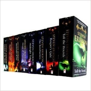 Steven Erikson 8 Books Collection Set, Vol. 1-8