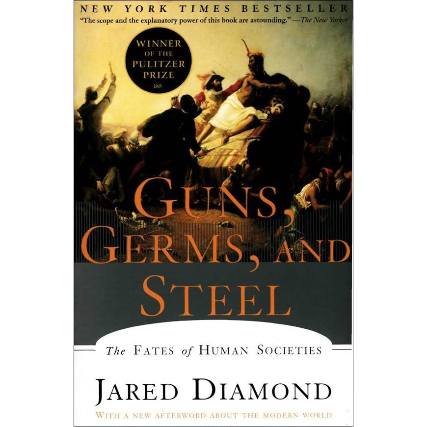 essays on guns germs and steel Guns, germs and steel: a review guns, germs and steel: a review jared diamond's fascinating account of our world's remarkable history provides its readers with a factual account of the development of different geographic groups, focusing on a time between 11,000 bc to present day.