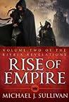 Book cover for Rise of Empire (The Riyria Revelations #3-4)