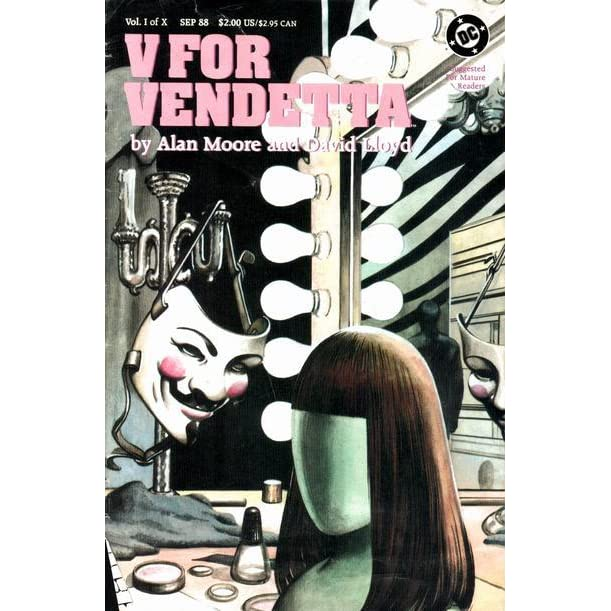 a comprehensive analysis of v for vendetta a novel by alan moore