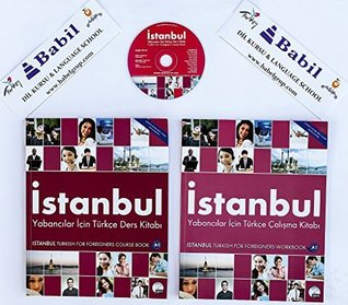 Turkish for Foreigners Istanbul Beginner A1 Course Book with Audio Cd + Workbook