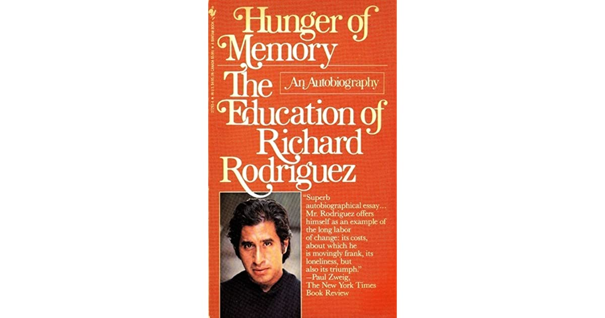 the educational journey of richard rodriguez The education connection 7 pages 1693 words april 2015  learned my parents have had an insurmountable impact on who i am and the path i have gone down for some however, like richard rodriguez, i cannot say the same in rodriguez's the achievement of desire, he tells his story on how his parents and family got in the way path he wanted.