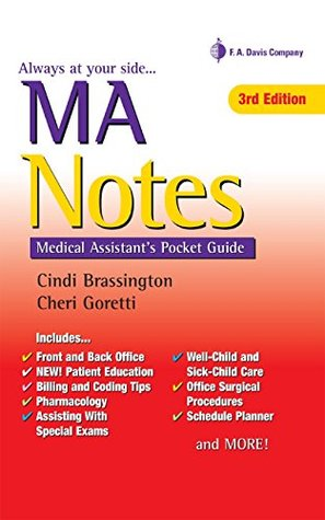 MA Notes Medical Assistant's Pocket Guide