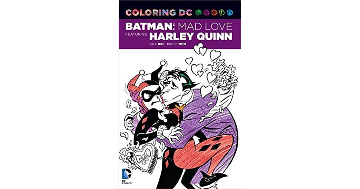 Coloring Dc Harley Quinn In Batman Adventures Mad Love By Paul Dini