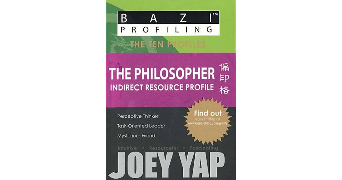 BaZi Profiling Series - The Philosopher by Joey Yap