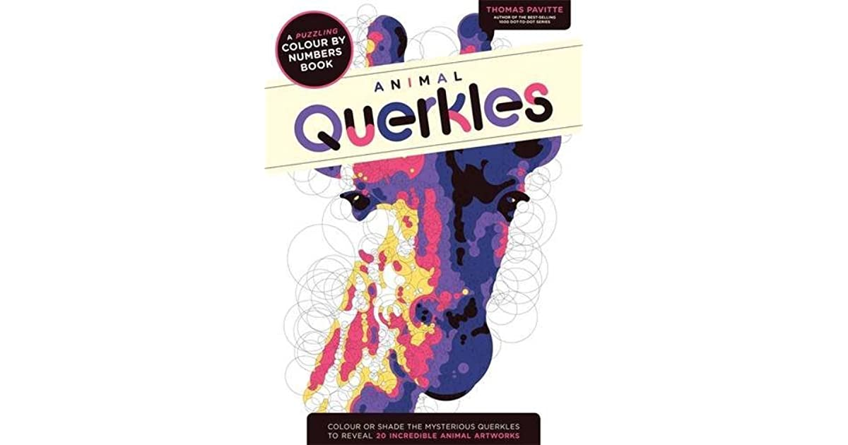 Feeling Fictional: Review: Animal Querkles: A puzzling colour-by ... | 630x1200
