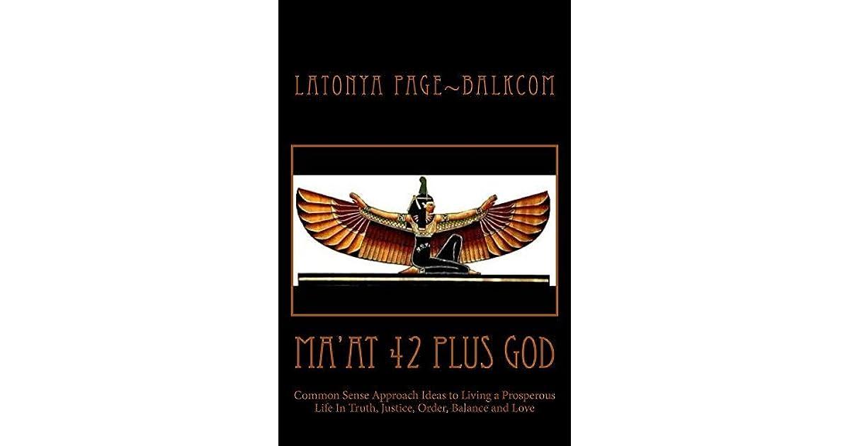 Ma At 42 Plus God By Latonya Page Balkcom