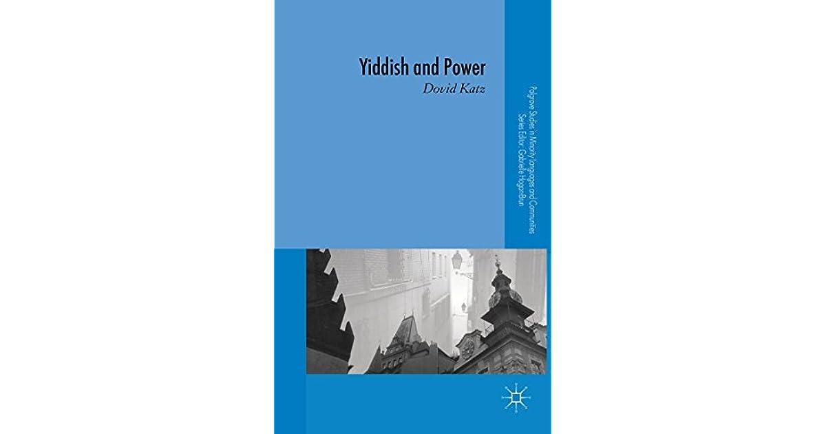 Yiddish and Power